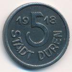 Дюрен., 5 пфеннигов (1918 г.)