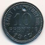 Франкфурт., 10 пфеннигов (1917 г.)
