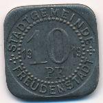 Фройденштадт., 10 пфеннигов (1919 г.)