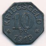 Гайльдорф., 10 пфеннигов (1918 г.)