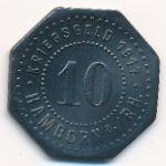 Хамборн., 10 пфеннигов (1917 г.)
