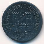 Херсбрук., 10 пфеннигов (1917 г.)