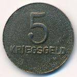 Кайзерслаутерн., 5 пфеннигов (1918 г.)