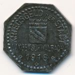 Швальбах., 10 пфеннигов (1918 г.)