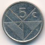 Аруба, 5 центов (1986 г.)