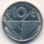 Аруба, 10 центов (1988–1993 г.)