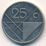 Аруба, 25 центов (1986–1992 г.)