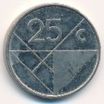 Аруба, 25 центов (1986–2012 г.)