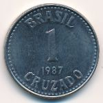 Бразилия, 1 крузадо (1986–1987 г.)