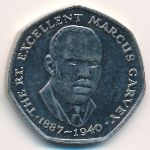 Ямайка, 25 центов (1993 г.)