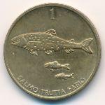 Словения, 1 толар (1996–2000 г.)