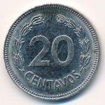 Эквадор, 20 сентаво (1980 г.)