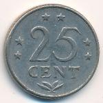 Антильские острова, 25 центов (1971 г.)