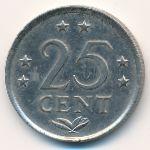 Антильские острова, 25 центов (1982 г.)