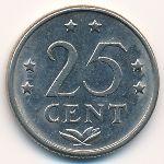 Антильские острова, 25 центов (1984 г.)