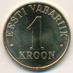 Эстония, 1 крона (2006 г.)
