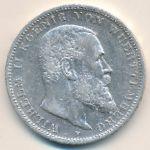 Вюртемберг, 3 марки (1909–1912 г.)