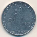 Ватикан, 100 лир (1956–1957 г.)