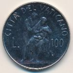 Ватикан, 100 лир (1982 г.)