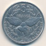 Новая Каледония, 5 франков (1952 г.)