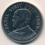 Остров Сент-Люсия, 5 долларов (1986 г.)