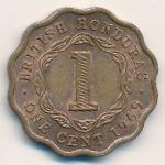 Британский Гондурас, 1 цент (1969 г.)