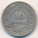 Британский Гондурас, 10 центов (1936 г.)