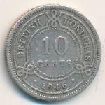 Британский Гондурас, 10 центов (1946 г.)