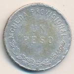 Оахака, 1 песо (1915 г.)