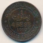 Итальянское Сомали, 4 бесы (1910 г.)