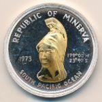 Республика Минерва, 35 долларов (1973 г.)