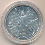 США, 1 доллар (1989 г.)