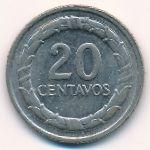 Колумбия, 20 сентаво (1967–1968 г.)