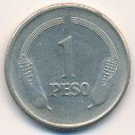 Колумбия, 1 песо (1980 г.)