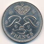 Монако, 5 франков (1971 г.)