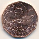 Австрия, 5 евро (2017 г.)