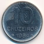Бразилия, 10 крузейро (1980–1984 г.)