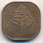 Свазиленд, 2 цента (1979 г.)
