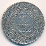 Марокко, 10 франков (1928 г.)