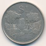 Зимбабве, 1 доллар (1980 г.)