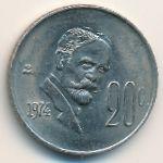 Мексика, 20 сентаво (1974–1983 г.)