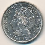 Мексика, 50 сентаво (1964–1969 г.)