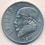 Мексика, 1 песо (1970–1981 г.)