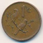 ЮАР, 1 цент (1974 г.)