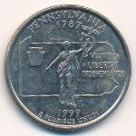 США, 1/4 доллара (1999 г.)