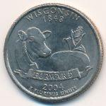 США, 1/4 доллара (2004 г.)