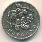 Великобритания, 1 фунт (2013 г.)