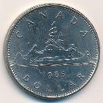 Канада, 1 доллар (1985 г.)