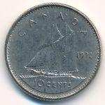 Канада, 10 центов (1972 г.)