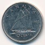Канада, 10 центов (1982 г.)